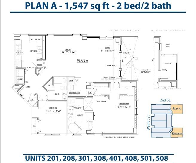 Floor Plan Bannerman Station Plan A