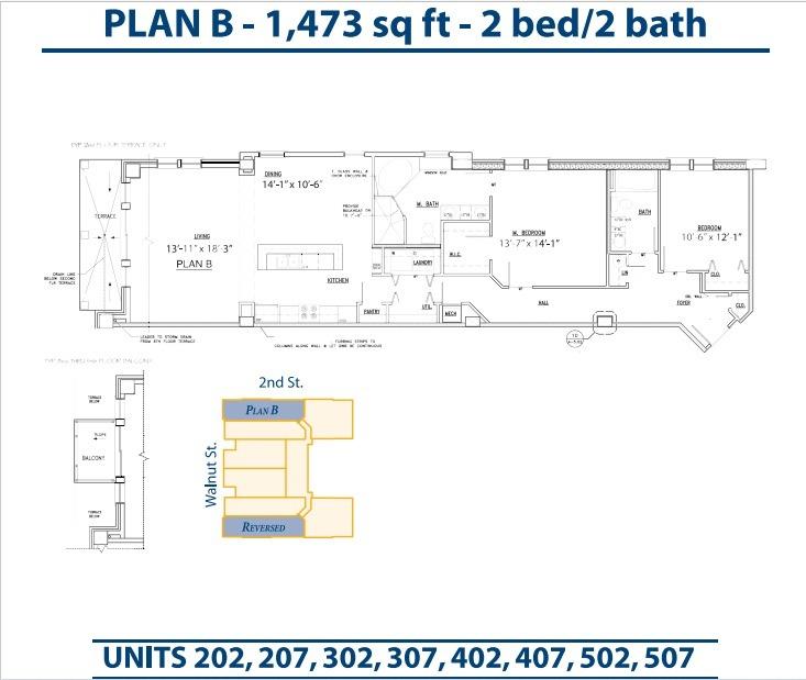 Floor Plan Bannerman Station Plan B