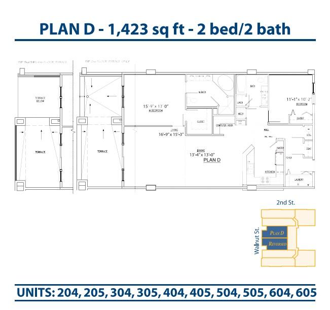 Floor Plan Bannerman Station Plan D