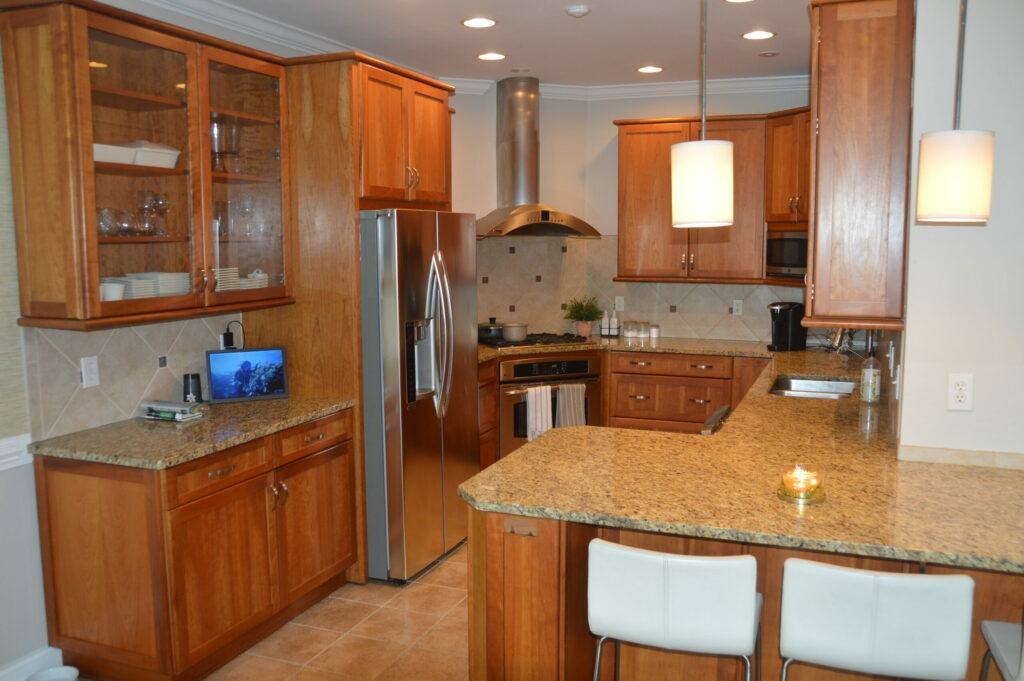 Photo of a kitchen at Governors Landing
