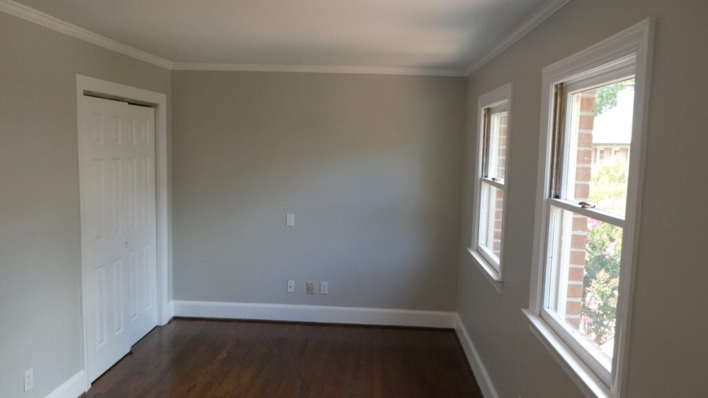 Photo of the front facing master bedroom at Wilmington Square