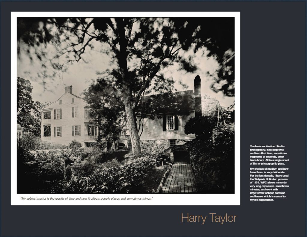 C21 4th Friday Exhibitor Harry Taylor