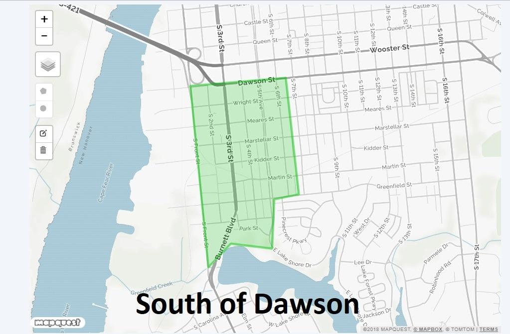 South of Dawson